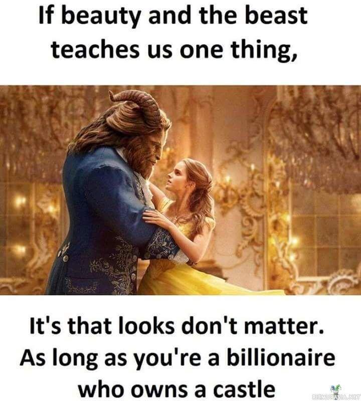 Ulkonäöllä ei ole väliä jos omistaa linnan