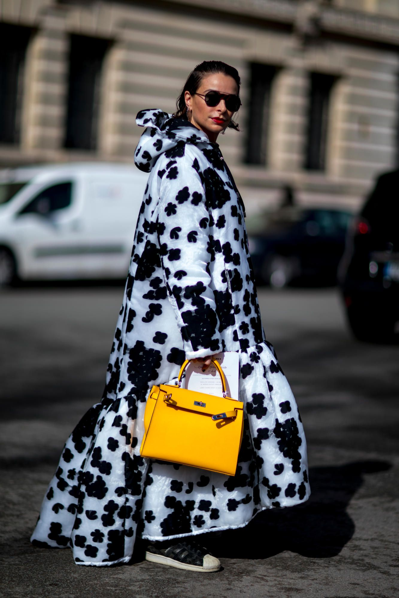 Plaid Was the Street Style Theme on Day 7 of Paris Fashion Week - Fashionista