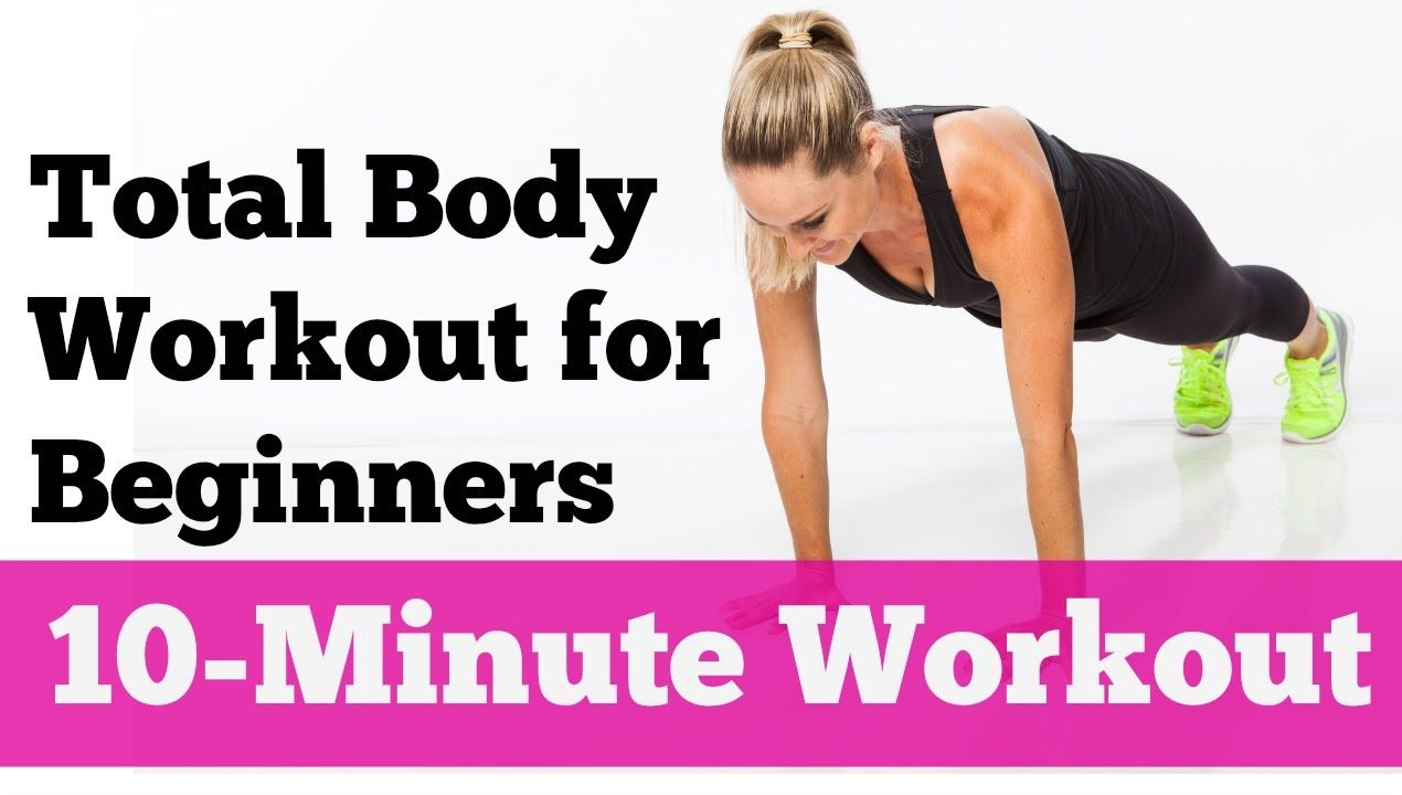 Minute Total Body Strength Workout for Beginners New to