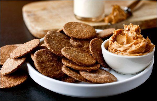 galletas integrales de sesamo