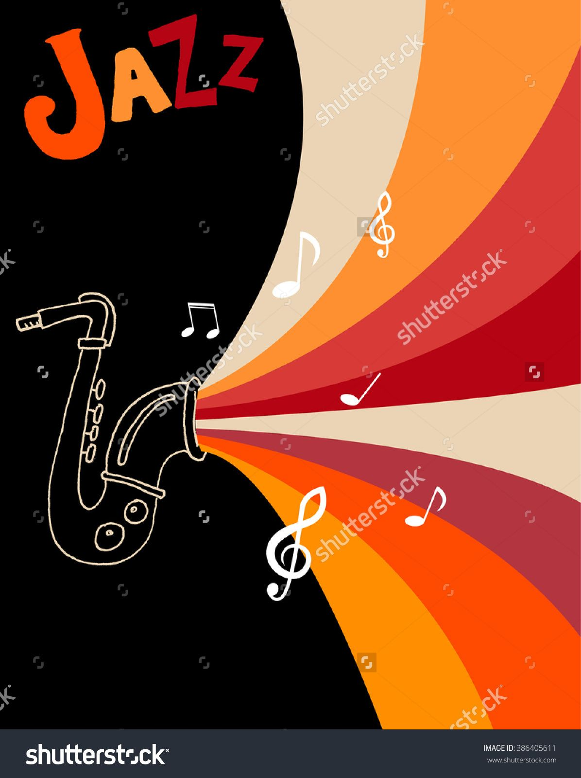 stock-vector-jazz-festival-poster-template-jazz-music ...