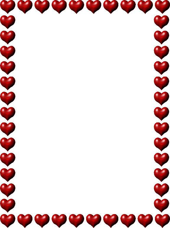 hearts border clip art clipart best bordas molduras pinterest rh pinterest co uk love heart border clipart heart border clip art free