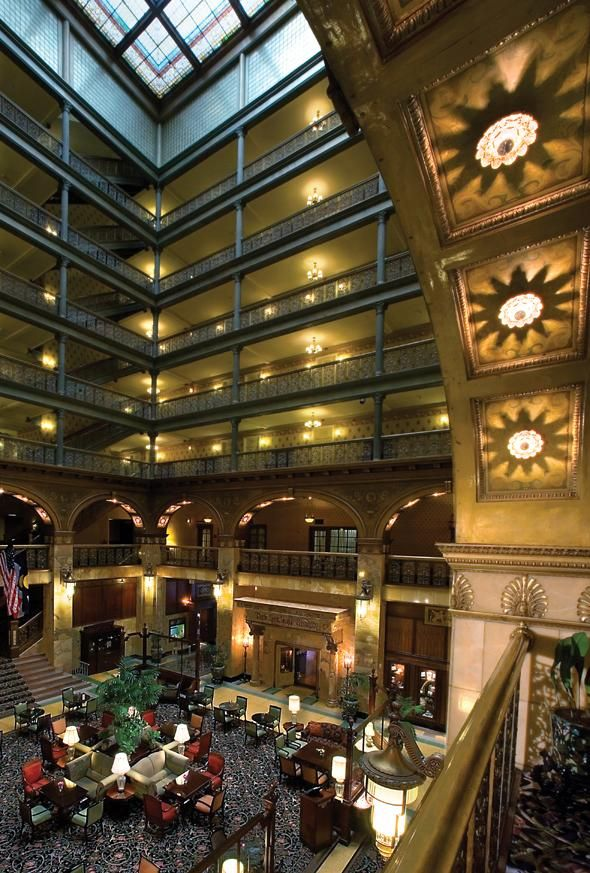 The Brown Palace in Denver