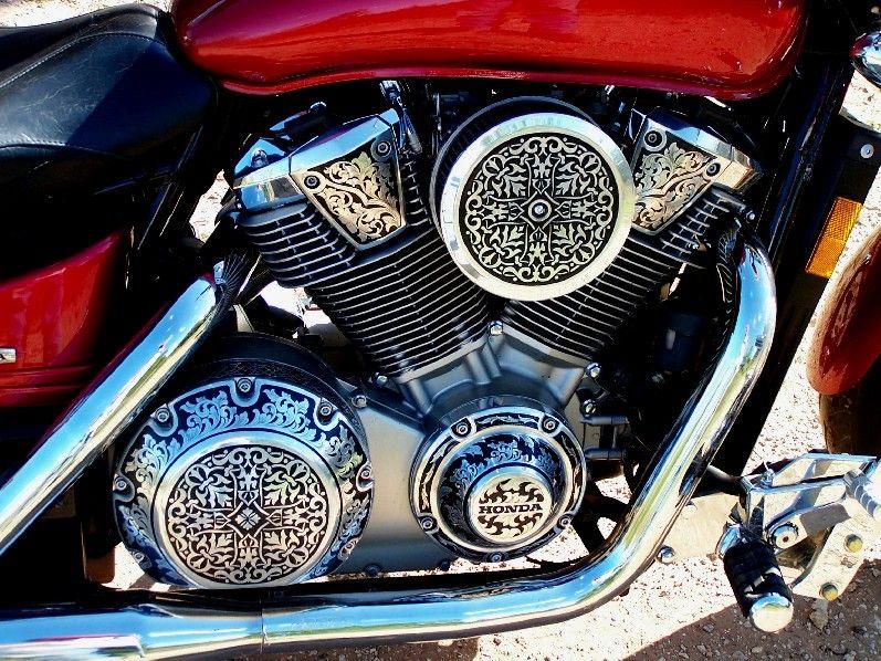 Honda Of Abilene >> Engraved Motorcycle Engine!! (Engraving by Otto Carter, Abilene, TX. www.ottocarter.com ...