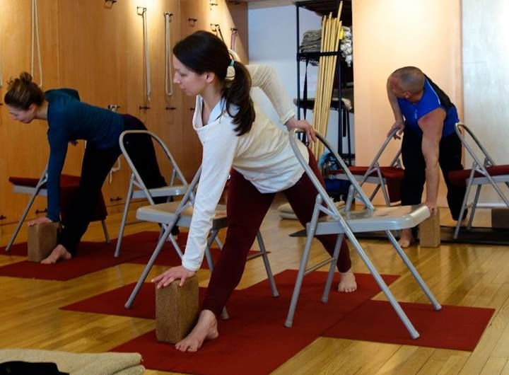 Organic Daily Post Yoga Yoga Iyengar Yoga Con Silla