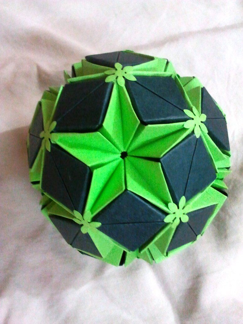 star planet kusudama by shwetaec on deviantart origami. Black Bedroom Furniture Sets. Home Design Ideas