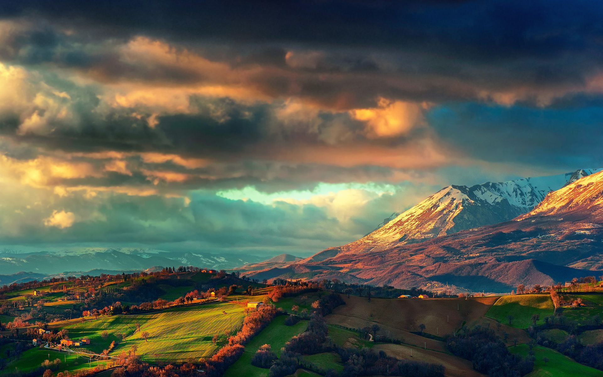 Apennines Landscape Italy Wallpaper #69358 - Resolution 1920x1200 px