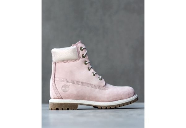 Timberland Br 6 In Premium Boot Br Pink Waterbuck Damskie Boots Timberland Timberland Boots