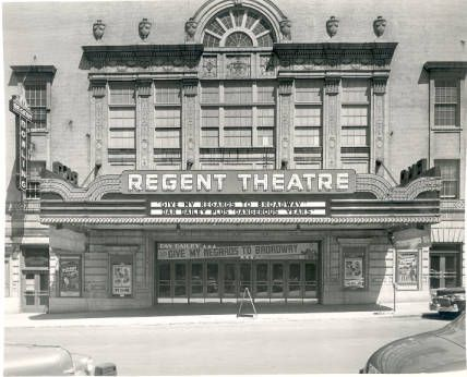 Regent Theatre 133 Crescent Nw July 29 1948 Grand Rapids
