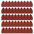 Mouse Sanding Disc Backing Pads Detail Sander Sandpaper Paper Assorted 40 80 120 Powertools Detail Sander Sandpaper Ebay