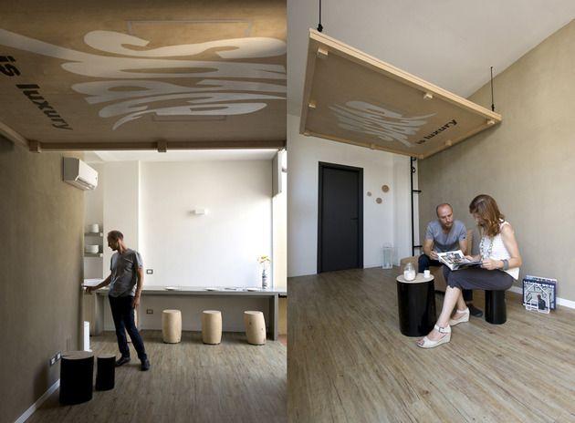 Bett Platzsparend bett an die decke aufhängen platzsparende idee designer renato