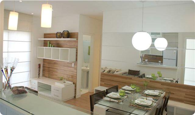 Espelho Para Sala Pequena ~ salas de jantar pequenas com espelho  Pesquisa Google  Arq
