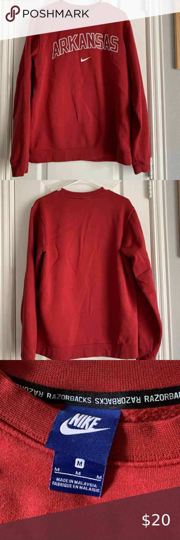 Arkansas Razorback Nike Sweatshirt Nike Sweatshirts Sweatshirts Nike Sweater [ 1740 x 580 Pixel ]