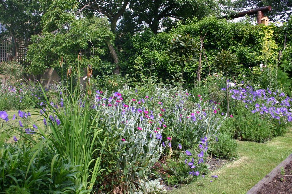 Piccoli giardini di campagna inglesi country home
