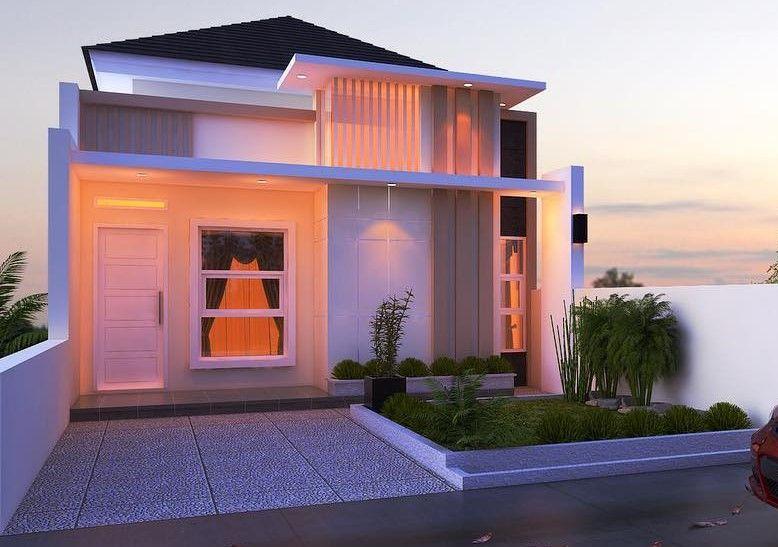 Desain Rumah Minimalis Type 36 1 Lantai Mewah Desain Rumah
