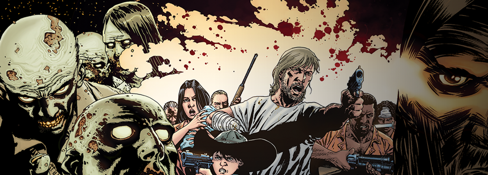 Walking Dead Comic Wallpaper