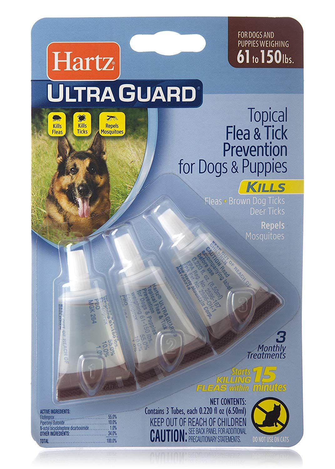 Hartz Ultraguard Flea And Tick Drops For Dogs And Puppies 5 14lbs Be Sure To Check Out This Awesome Product This Is An Brown Dog Tick Flea And Tick Fleas