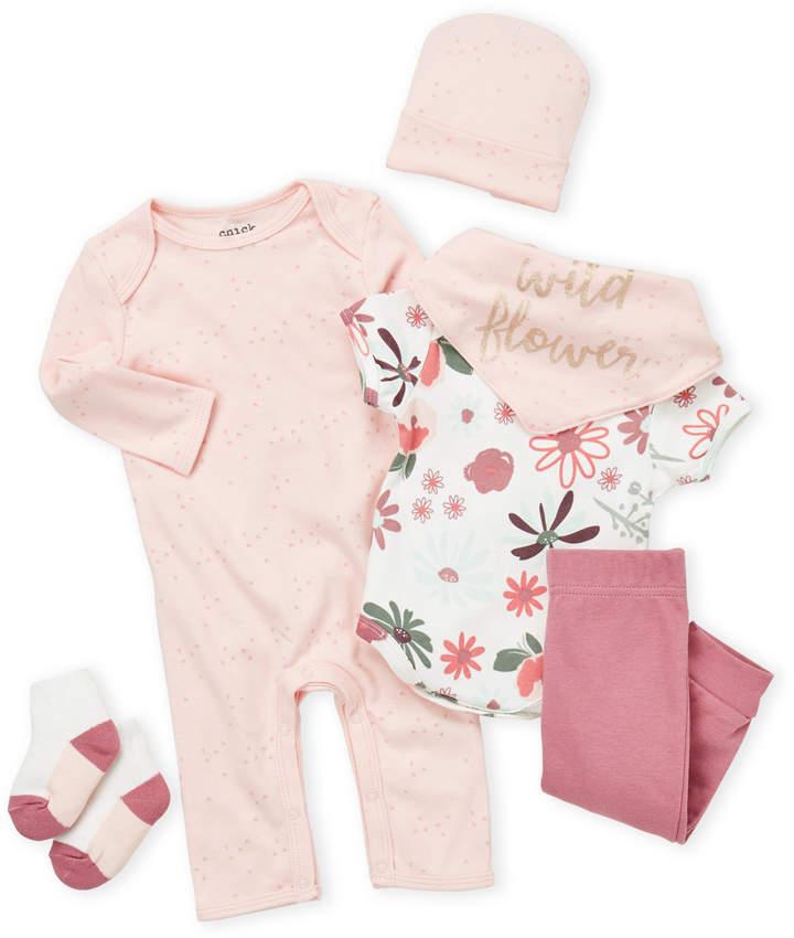 892f437f Newborn Girls) 6-Piece Floral Gift Set in 2019 | K.K | Cute baby ...