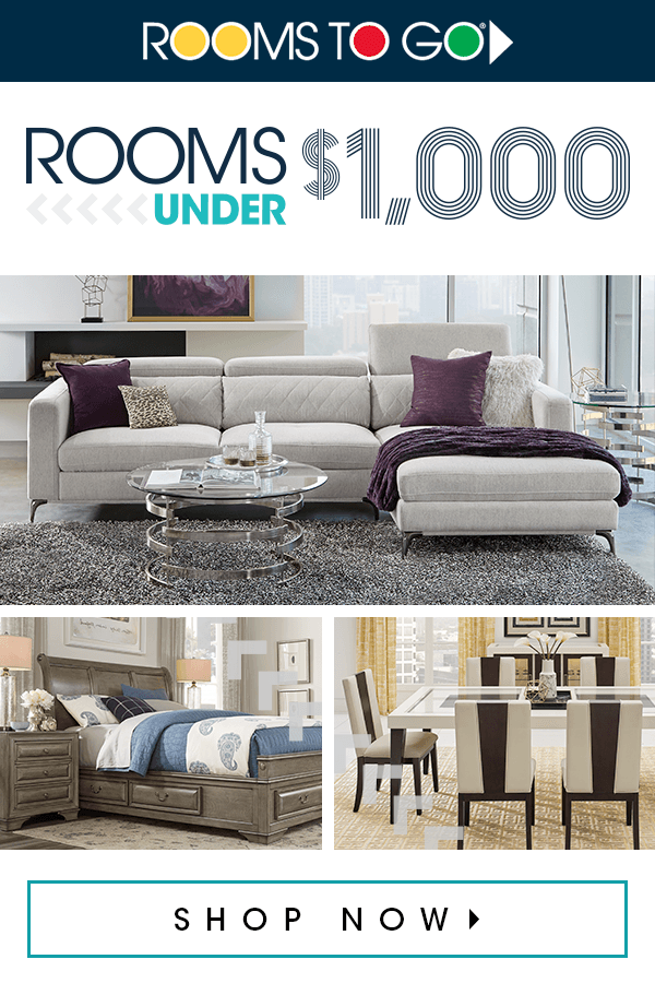 Rooms Under 1 000 Rooms To Go Furniture Room Furniture Sale