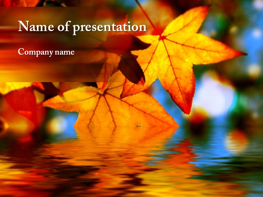 autumn powerpoint template autumn awesome templates powerpoint