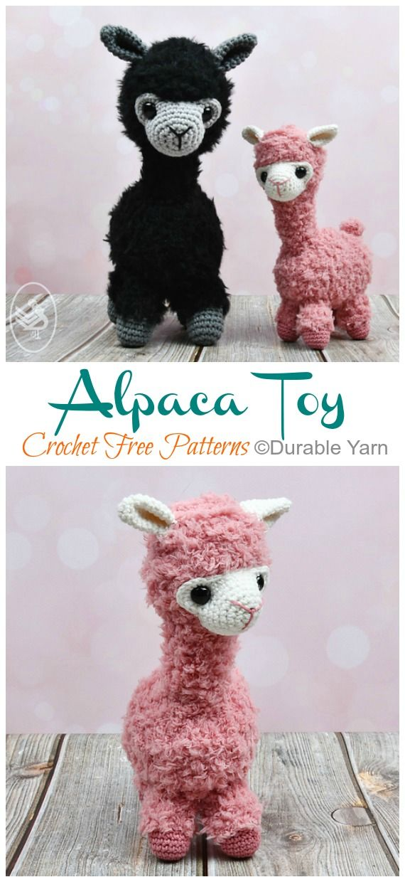 Amiugrumi Alpaca Toy Crochet Free Patterns – Amigurumi Llama