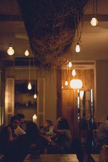 Ideas de iluminaci n para decorar restaurantes bares - Iluminacion terrazas exteriores ...