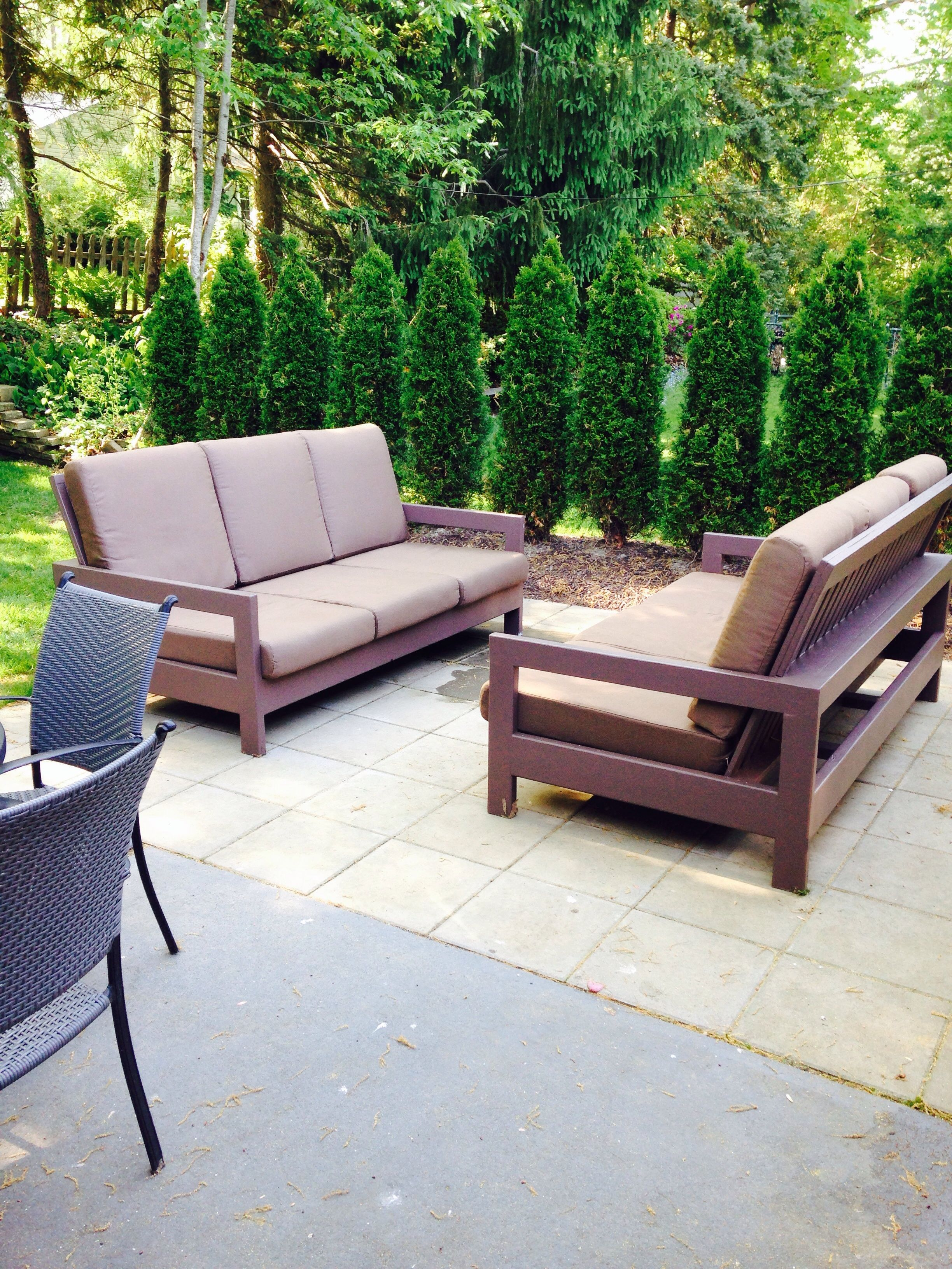 Outdoor patio couches Do It Yourself Home Projects from