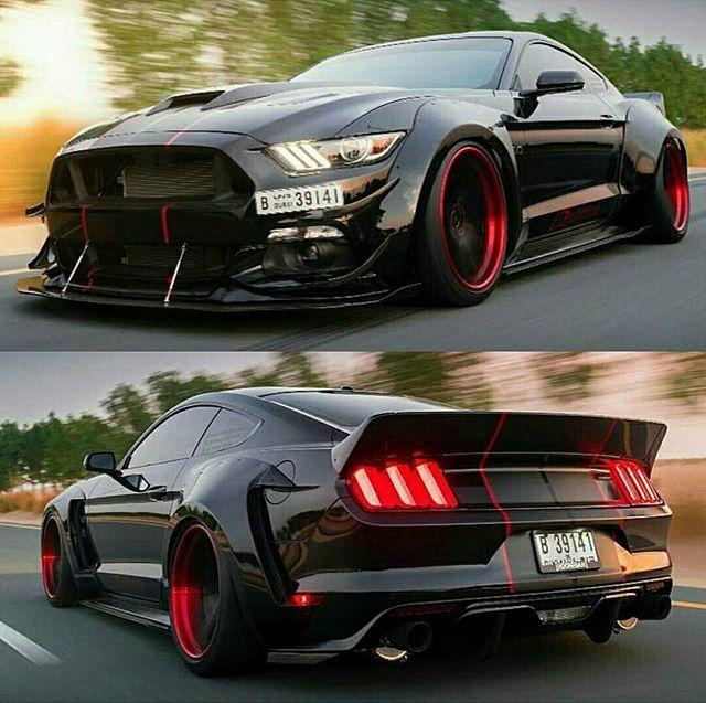 Mean Alphamale Mustang! 🔥 • Follow @supercar @supercar ...