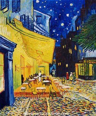 Van Gogh Terrasse De Cafe Van Gogh Pinterest Arte
