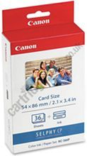 £10.29 , pack of ink for Canon Selphy , 36 photos free delivery.