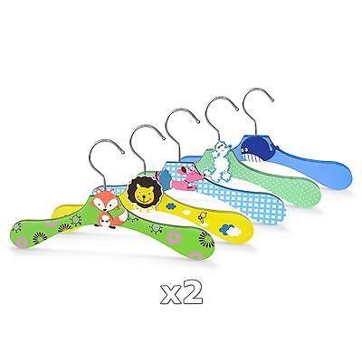 2 X Kinder Kleiderbugel Set Aus Holz Kinderbugel Garderobenbugel
