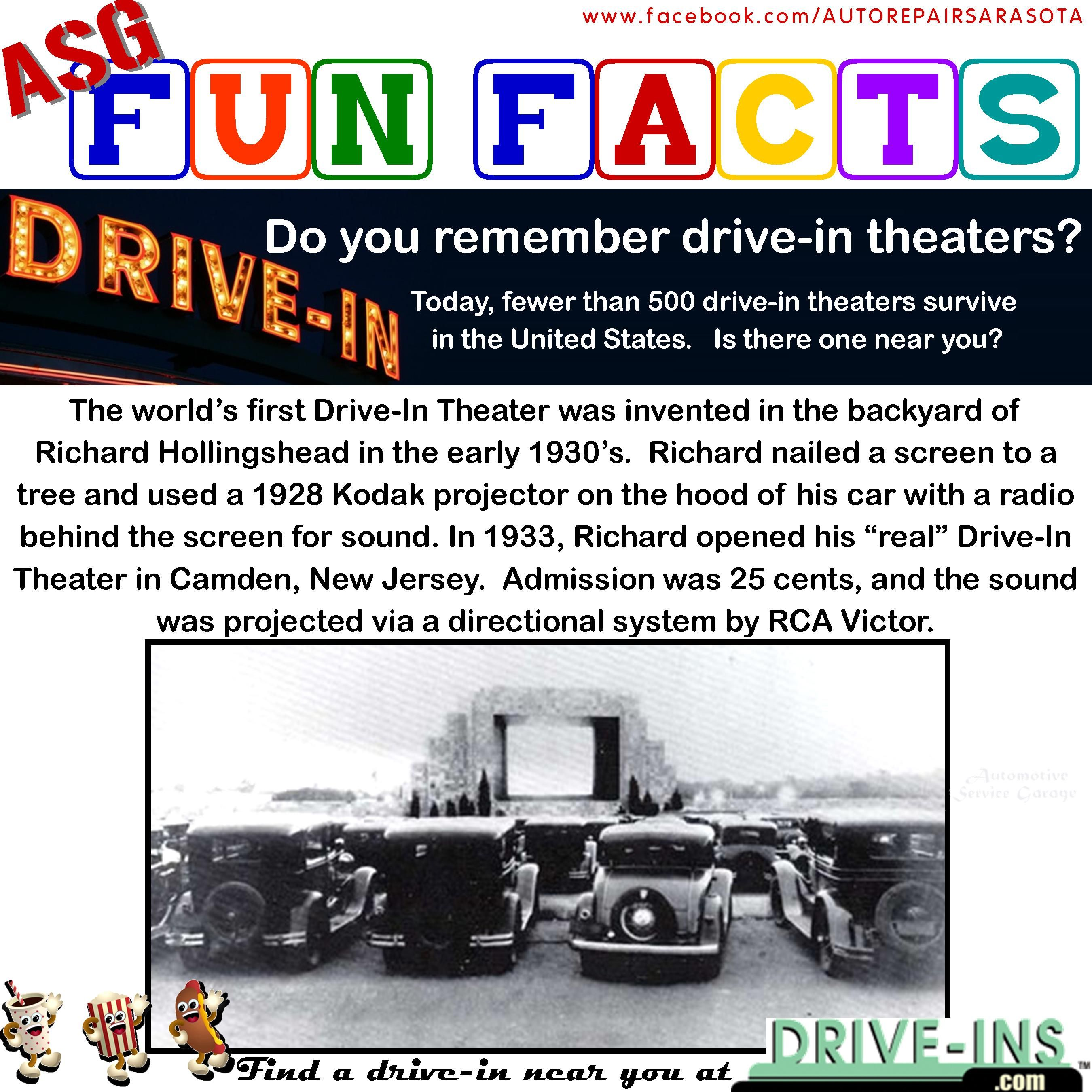 Fun Fact Drive In Movie Theater History And Where To Find