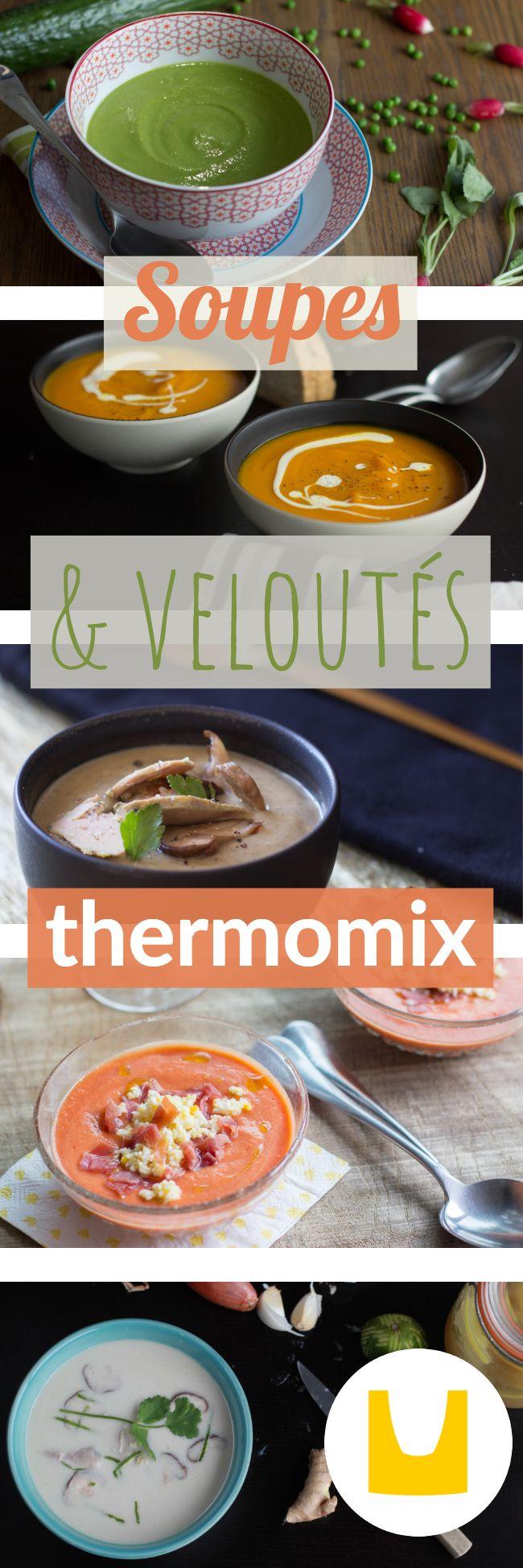 Rien de tel qu une bonne petite soupe thermomix pour se - Cuisiner tous les jours avec thermomix ...