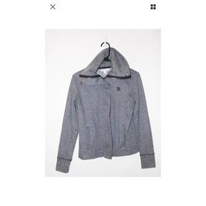 I just discovered this while shopping on Poshmark: Banana Republic Gray Cotton Jacket Size XS. Check it out! Price: $22 Size: XS