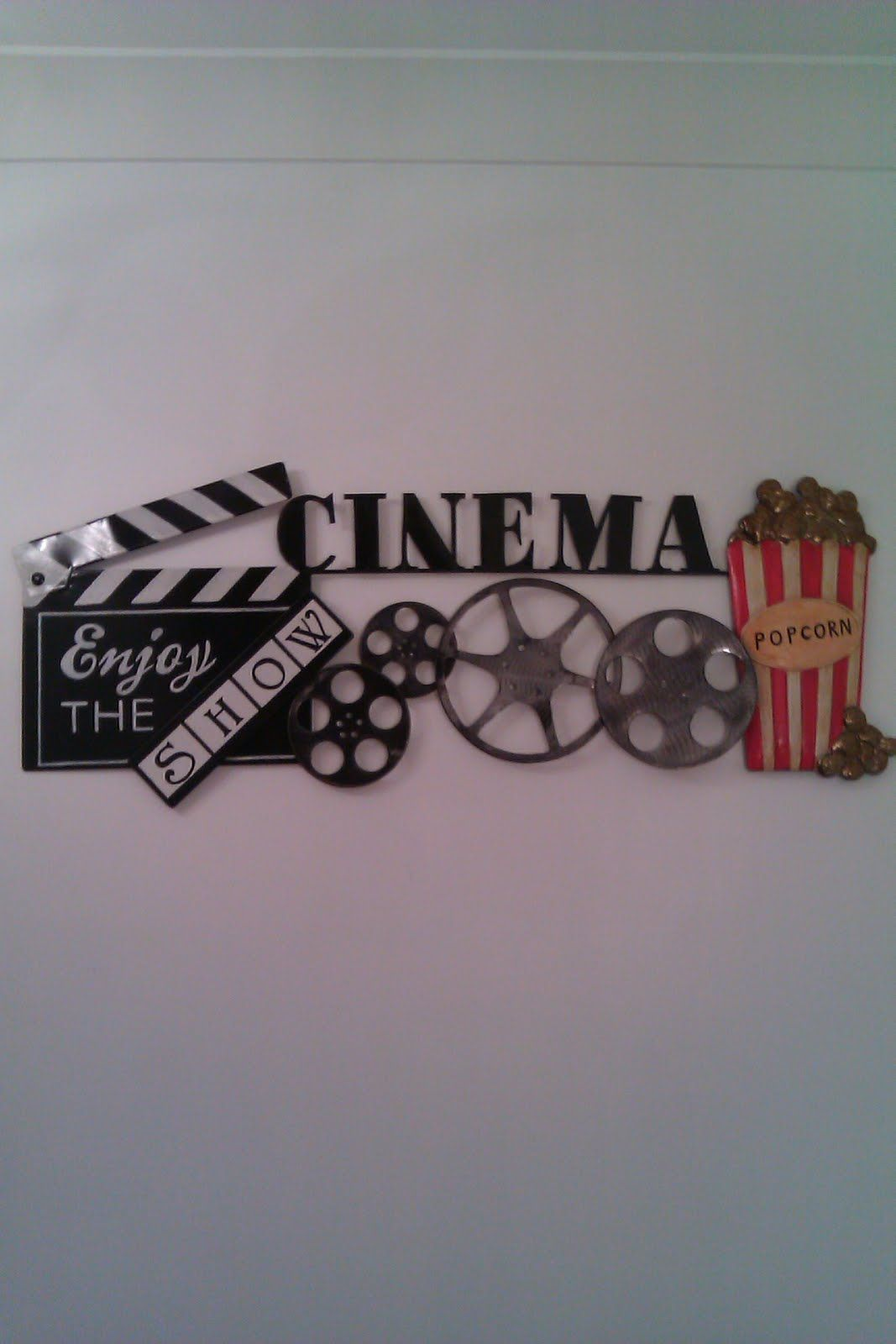 Wall Art Design Ideas: Home Inspirations Cinema Wall Art