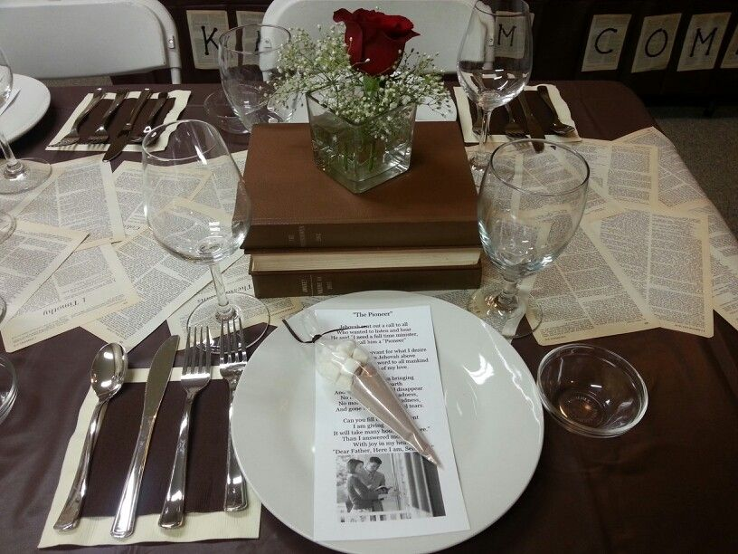 Book Themed Party Table Setting Parties I Ve Done Book