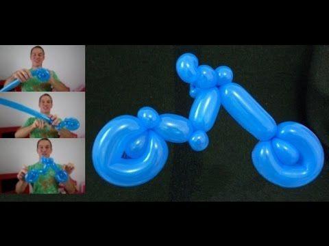 Como Hacer Un Caballo Con Globos Globoflexia Facil Caballo Con - Formas-con-globos-largos