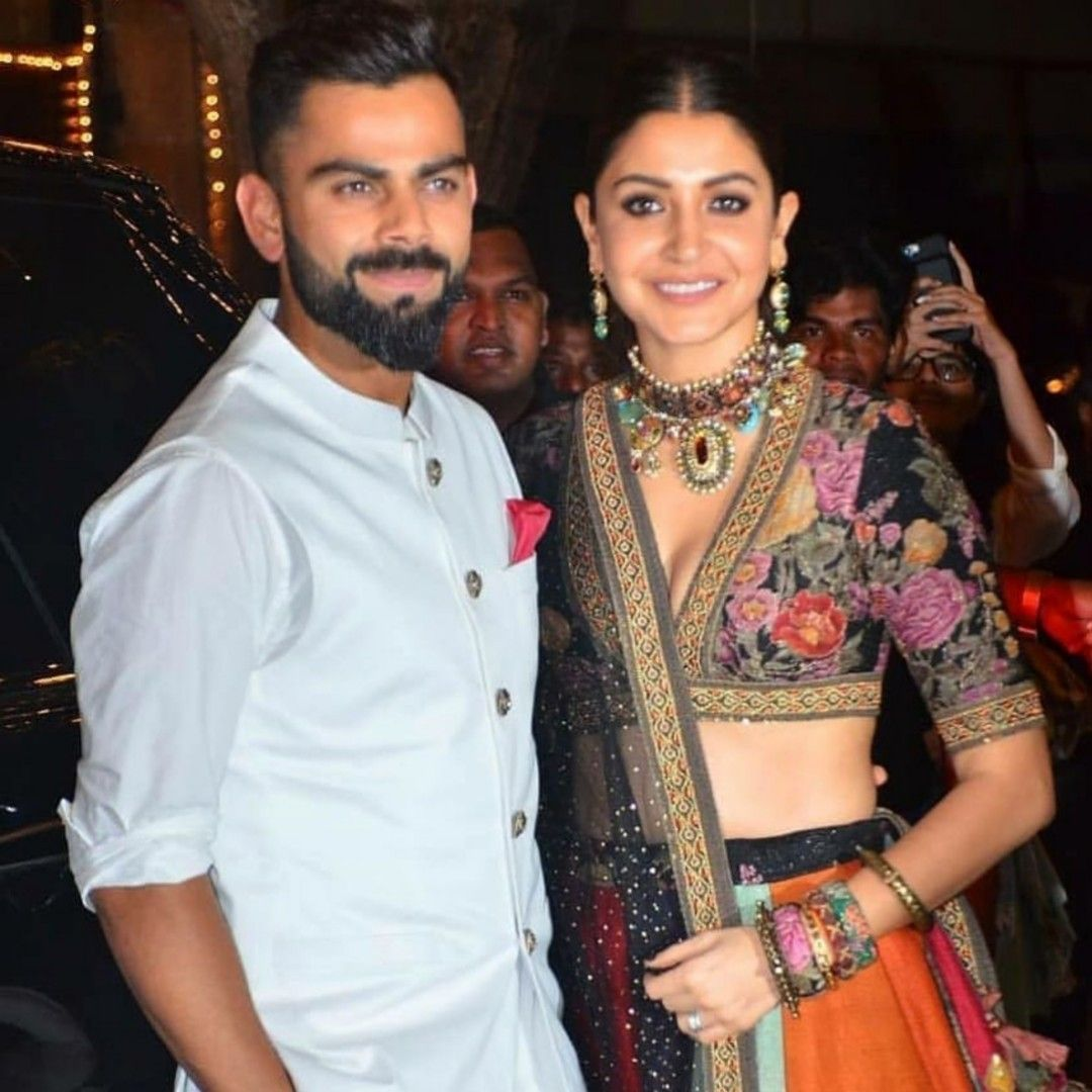 Virat kohli with his wife Anushka Sharma Anushka sharma