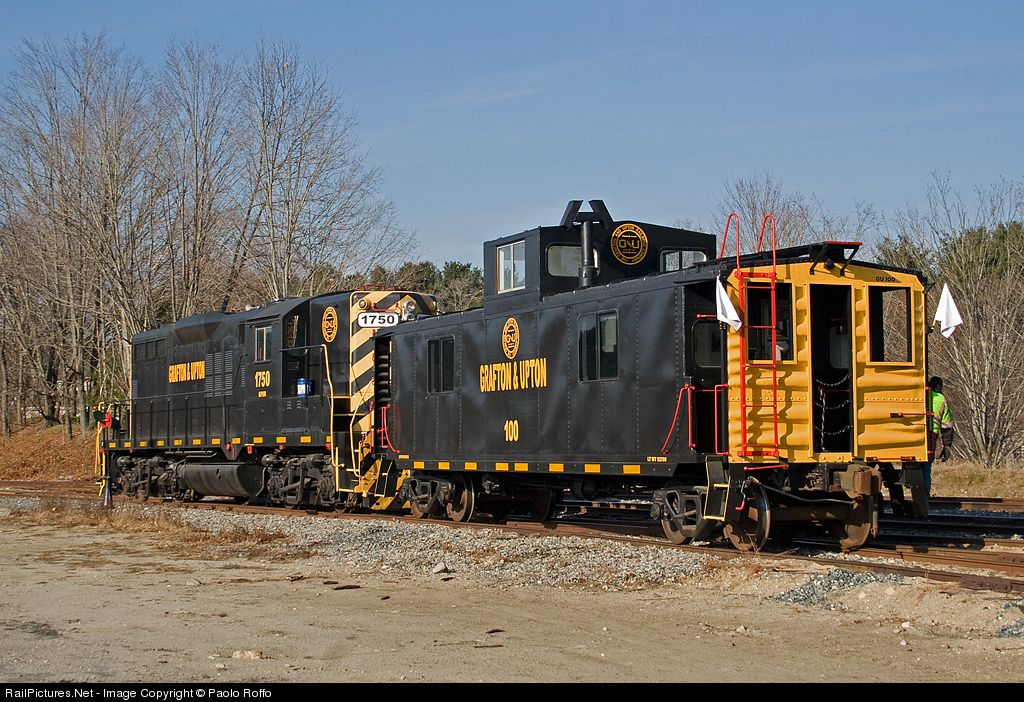 RailPictures.Net Photo: G 1750 Grafton & Upton Railroad EMD GP9 at West Upton, Massachusetts by Paolo Roffo