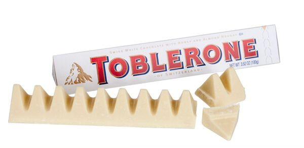 Favourite Chocolate White Chocolate Toblerone Toblerone