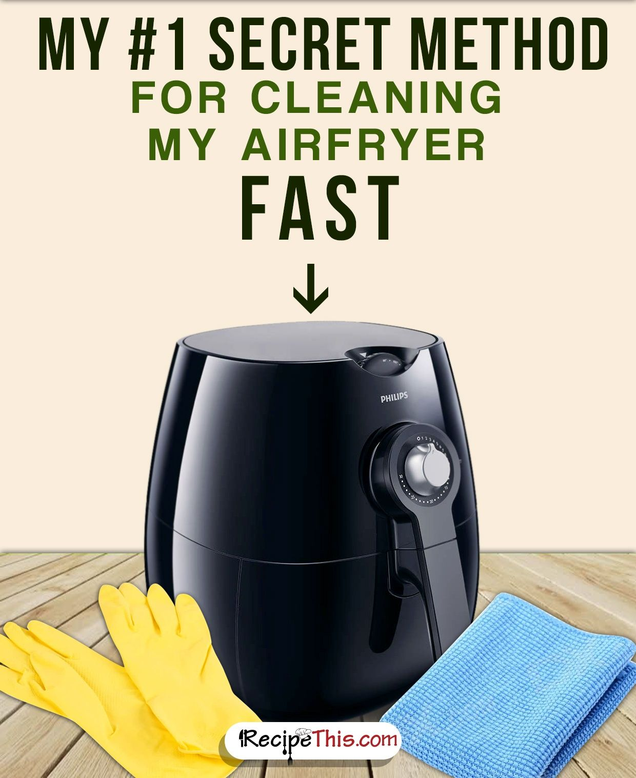 How To Clean Your Airfryer  Air fryer recipes easy, Air fryer