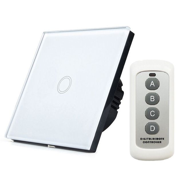 New Smart Home Automation EU Standard WIFI RF433 Remote Controls 1 ...