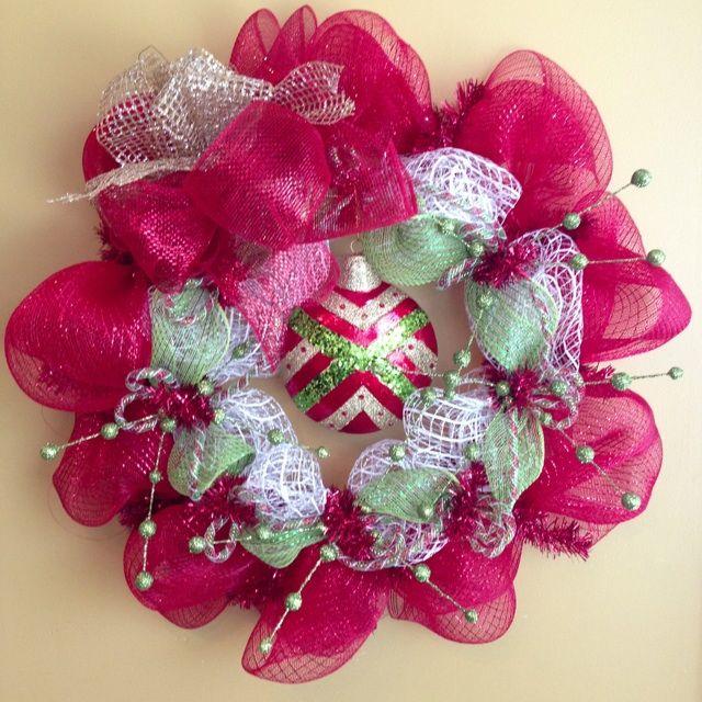 A fun Christmas Wreath!! $55.00