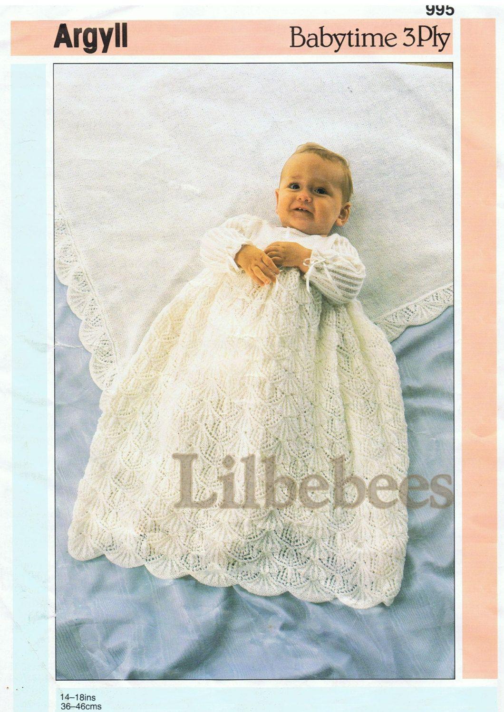 Baby Knitting Pattern Pdf Download Shawl And Christening