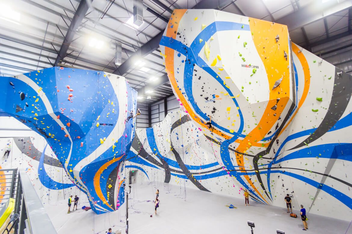 Sender One Lax Awesomely Long Gym Routes Beta Together Rock Climbing Gym Climbing Gym Rock Climbing