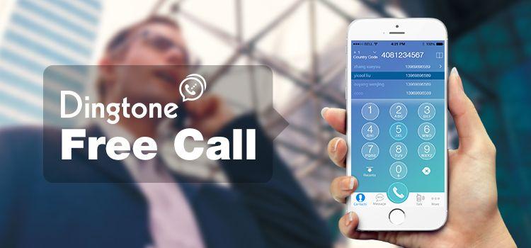 With Dingtone free call app, you can make free phone calls