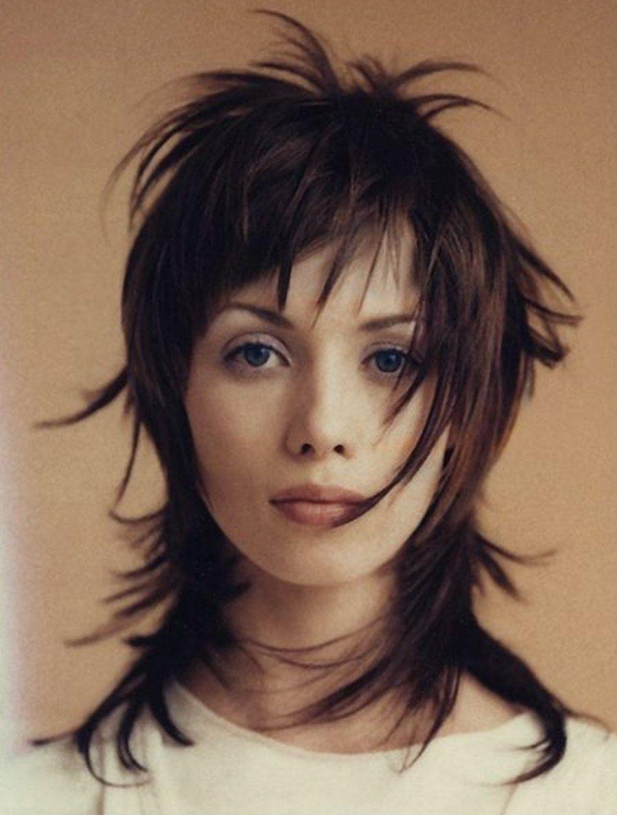 Bem na foto: Corte de cabelo médio repicado ⋆ De F