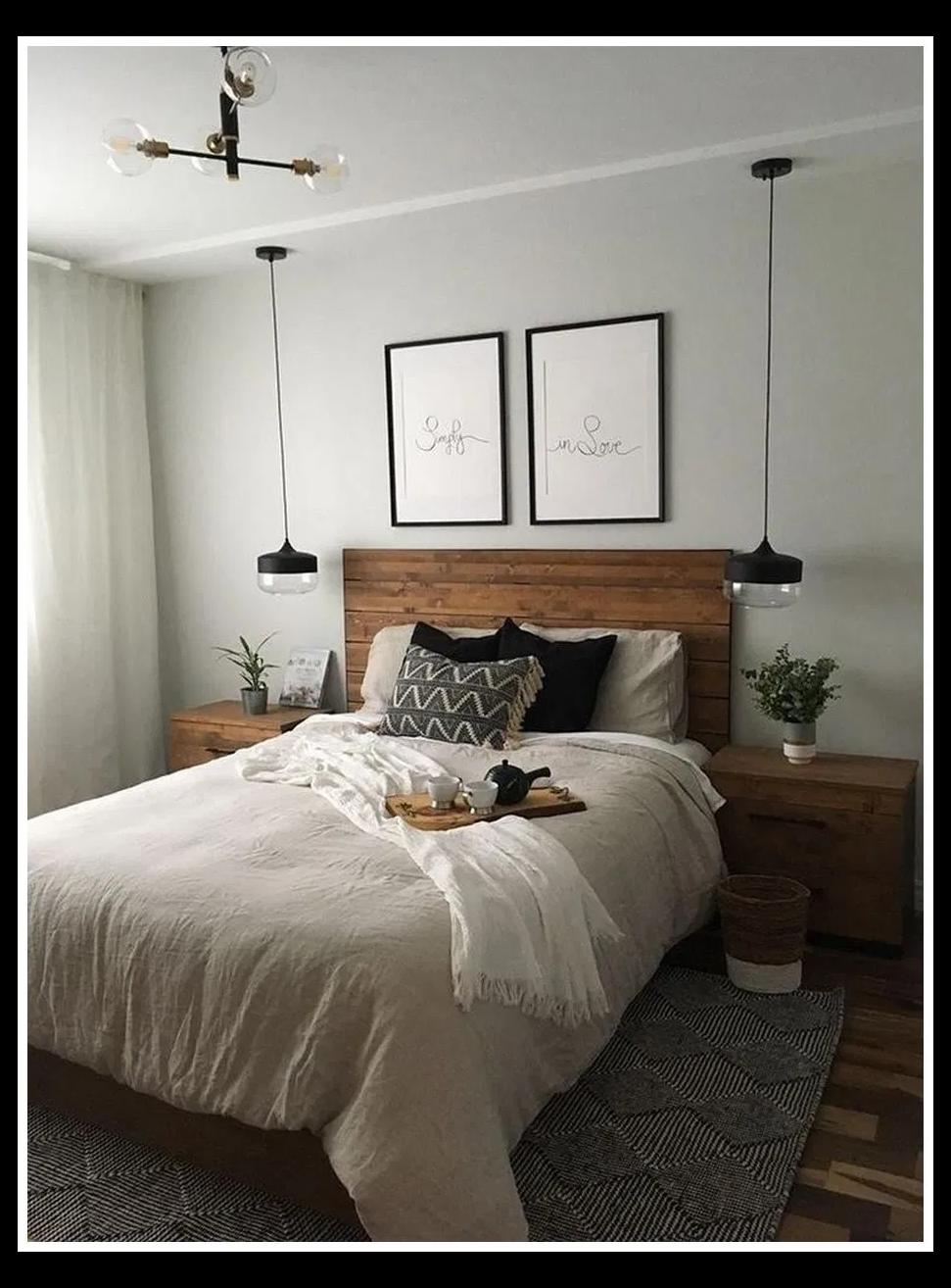 28+ Cozy Bedroom Decor Master for Couples Romantic ...