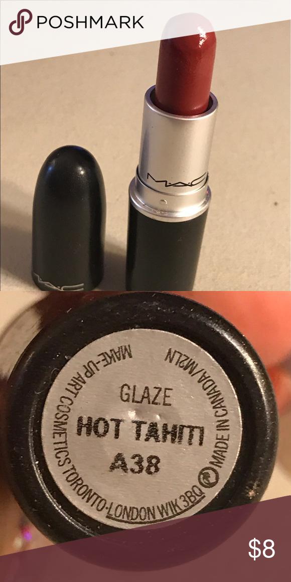 MAC Lipstick Glaze Hot Tahiti >>> This