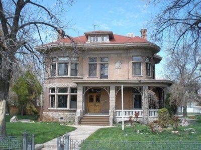 Picture Of Salt Lake City Historical Houses House Salt Lake City Utah U S National Register Of Historic Victorian Homes Mansions Historic Homes